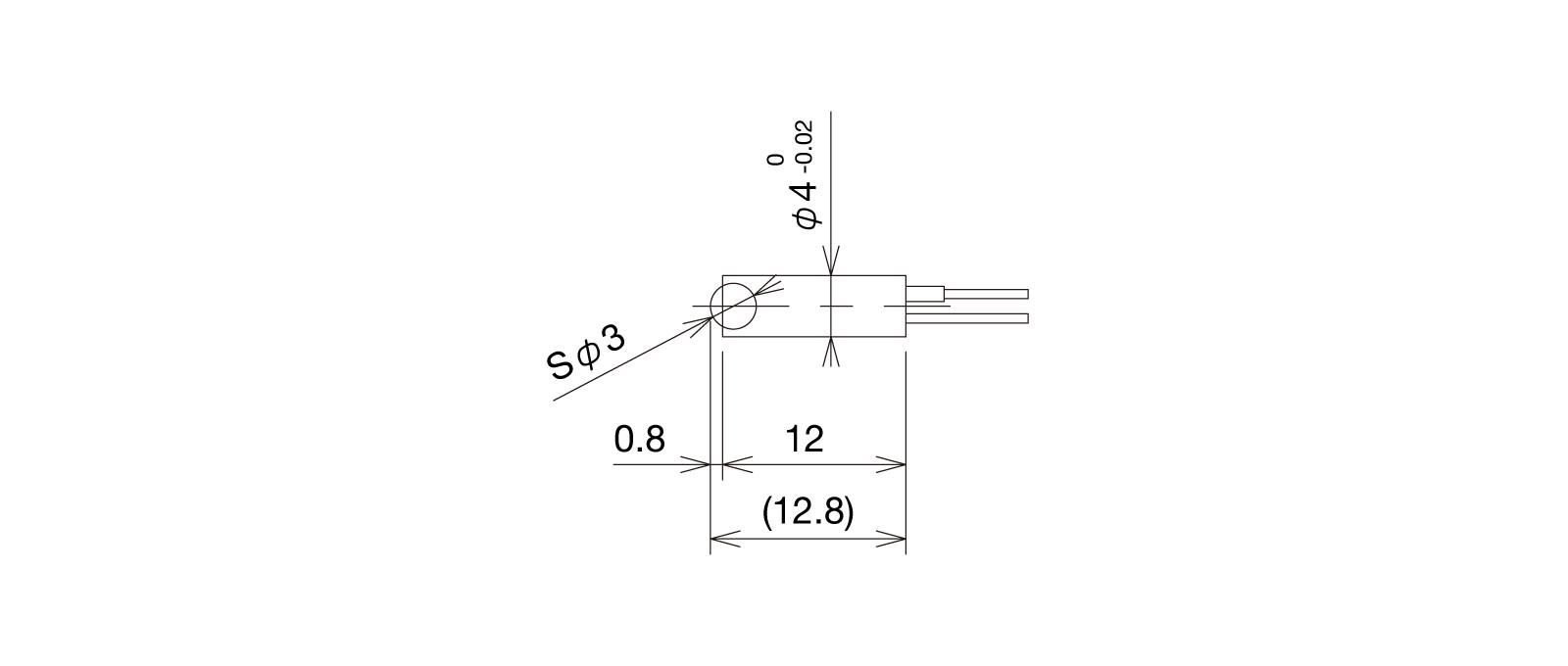 BP4SWAの外径寸法図1