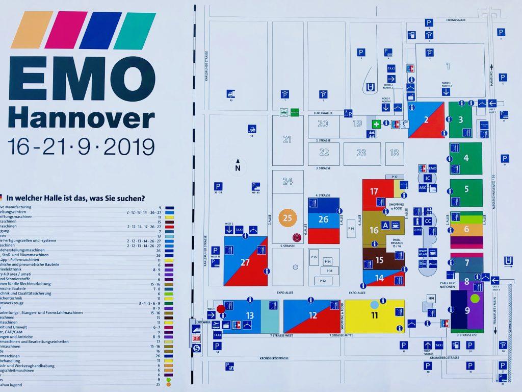 EMO展示会場マップ