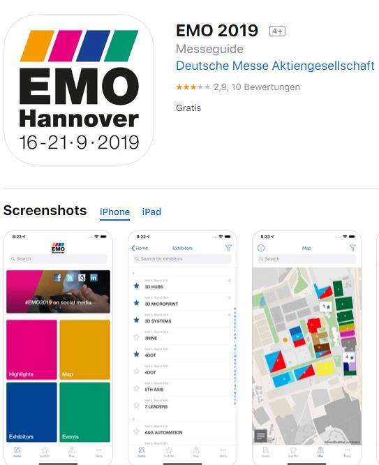 EMO2019専用アプリ