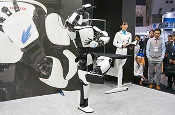 最先端のロボット技術が集結!「2017国際ロボット展」に出展しました
