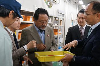 タイ工業省プラモード副大臣が、メトロールの工場を視察されました!