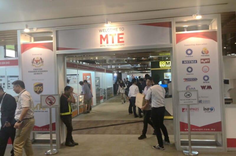 マレーシア金属加工展『MTE 2019』に出展しました
