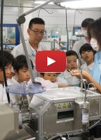 J:COM デイリーニュース多摩「夏休み親子工場見学会」