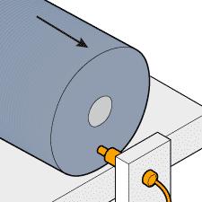 印刷機械ドラムのズレ検知