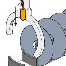 半導体製造装置のHDD搬送検出
