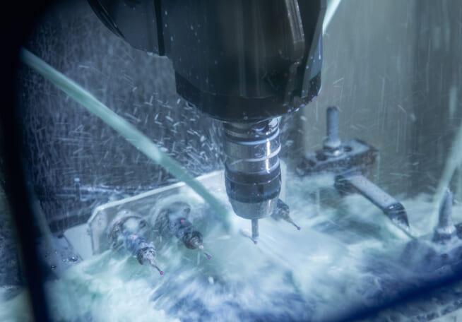 水やクーラント、粉塵に強い保護等級IP68
